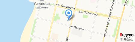 Мир-глонасс.рф на карте Архангельска