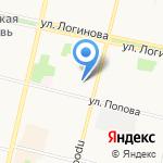 МаякЪ на карте Архангельска
