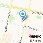 Школа занимательных наук на карте Архангельска