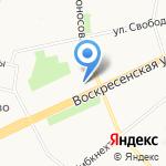 Графика на карте Архангельска