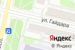 Схема проезда до компании Sushi City в Архангельске