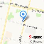 Юридический кабинет на карте Архангельска