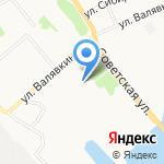 Кабинет массажа Тимура Огадярова на карте Архангельска