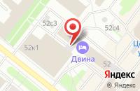 Схема проезда до компании Северное Информационное Агентство в Архангельске