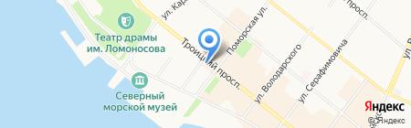 RC-coffee на карте Архангельска