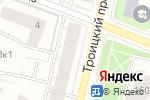 Схема проезда до компании Fashion в Архангельске