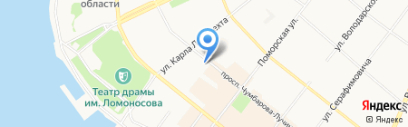 Plus на карте Архангельска