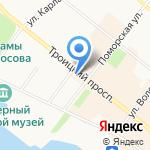 МТС на карте Архангельска