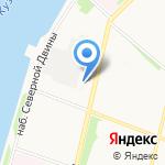 Арктика на карте Архангельска