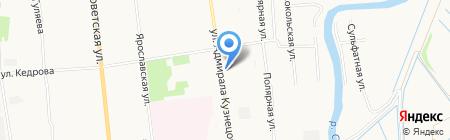Мир замков на карте Архангельска