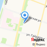 Кондитерские изделия от Машенькиной на карте Архангельска