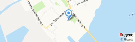 Маникюрный кабинет на карте Архангельска