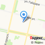 Платный туалет на карте Архангельска