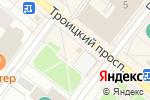 Схема проезда до компании Любимчик в Архангельске