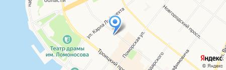 Stare Mesto на карте Архангельска
