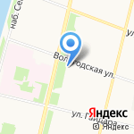 Аксиома на карте Архангельска