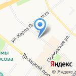 Зубная Фея на карте Архангельска