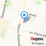 Bearded Studio на карте Архангельска