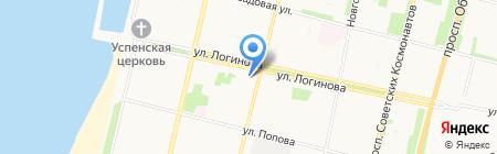 Архангельский музыкальный колледж на карте Архангельска