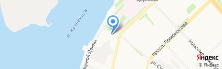 Салон штор на карте Архангельска
