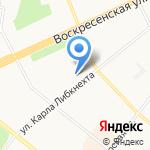 Belle на карте Архангельска
