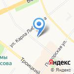 Северное бассейновое управление по сохранению на карте Архангельска