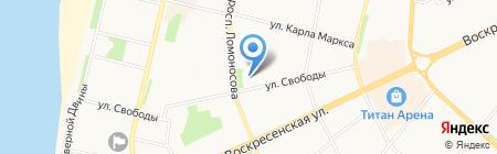 УФНС на карте Архангельска