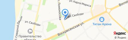 Пространство Развития на карте Архангельска