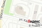 Схема проезда до компании Квадр в Архангельске