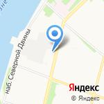 Территориальный фонд геологической информации по Северо-Западному Федеральному округу на карте Архангельска
