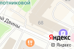 Схема проезда до компании КБ Росэнергобанк в Архангельске