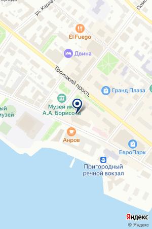 РоссельхозБанк на карте Архангельска