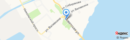 Чебуречная на карте Архангельска