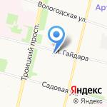 21 Век на карте Архангельска
