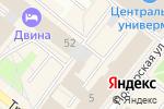 Схема проезда до компании АРБИС: Прикладные решения, ЗАО в Архангельске