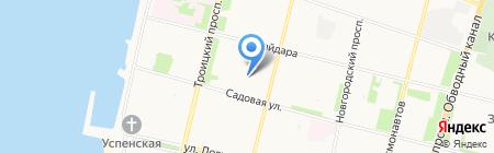 Каприз на карте Архангельска