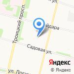Двина-Сервис Центр на карте Архангельска