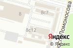 Схема проезда до компании Иголочка в Архангельске