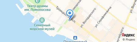 ТЫ ГОВОРИШЬ! на карте Архангельска