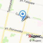 Магазин сумок и кожгалантереи на карте Архангельска