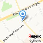 Vanille на карте Архангельска