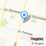 PONY EXPRESS на карте Архангельска