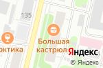 Схема проезда до компании Декор Буржуа в Архангельске