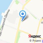 Декор Буржуа на карте Архангельска