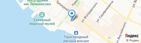 Green House на карте Архангельска