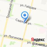 Маленькая модница на карте Архангельска