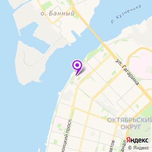 Первая городская больница им. Волосевич на карте