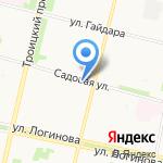 Обстановочка на карте Архангельска