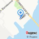 Полигон на карте Архангельска