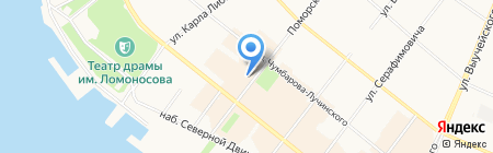 КБ Европлан на карте Архангельска